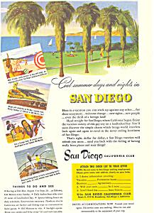 San Diego California Tourism Ad ad0342 (Image1)