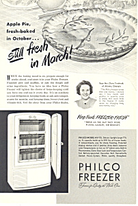 Philco Freezer  Ad (Image1)