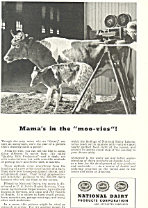 National Dairy Products Movie Ad ad0345 (Image1)