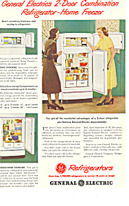 General Electric Refrigerators Ad (Image1)