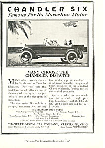 Chandler Six Car Ad (Image1)