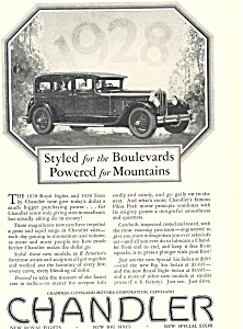 Chandler Car Ad (Image1)