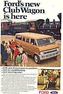 Ford Club Wagon  Ad (Image1)
