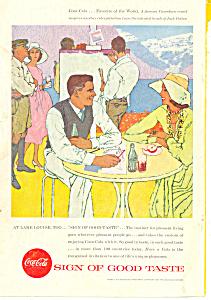 Coca Cola Lake Louise  Ad ad0403 (Image1)