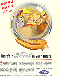 Ford in your Future 1945 Ad ad0411 (Image1)