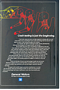 General Motors Crash Dummy  Ad (Image1)