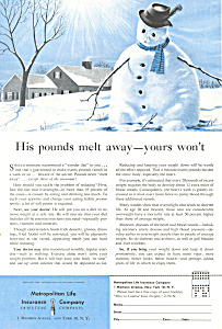 Met Life Snowman Ad ad0437 (Image1)