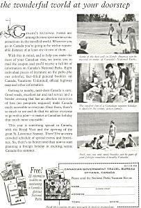 Canadian Travel Bureau  Ad (Image1)