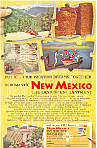 New Mexico Land of Enchantment  Ad ad0439 (Image1)