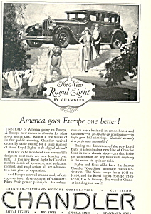 Chandler Royal Eight 1927Ad (Image1)