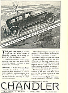 Chandler-Cleveland Motors Corporation 1927 Ad (Image1)