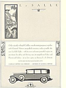 La Salle 1930 Ad (Image1)