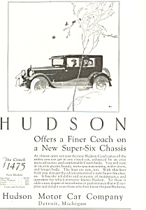 Hudson Coach 1924 Ad ad0474 (Image1)