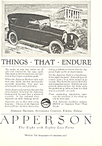 Apperson Eight 1920 Ad ad0479 (Image1)