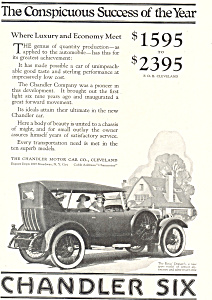 Chandler Six 1922 Ad (Image1)
