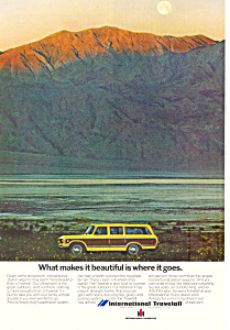 Travelall International Harvester 1973 Ad Ad0491