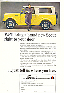 Scout International Harvester 1964 Ad Ad0492
