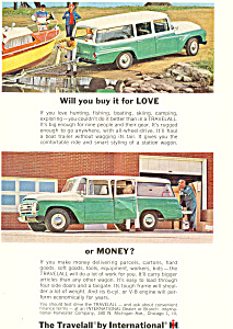 Travelall International Harvester 1964 Ad Ad0493