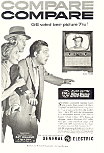 General Electric TV Ray Milland Ad (Image1)