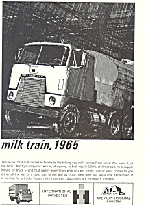 International Harvester Trucks 1965 Ad Ad0495