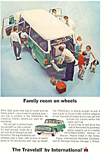 Travelall International Harvester 1964 Ad Ad0496