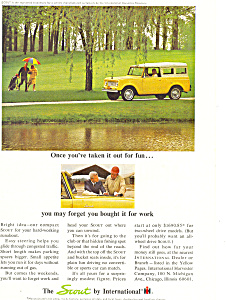 Scout International Harvester 1964 Ad Ad0497