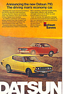 Datsun 710 1974 Ad ad0525 (Image1)