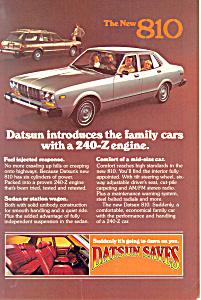 Datsun The New 810 Ad ad0529 (Image1)