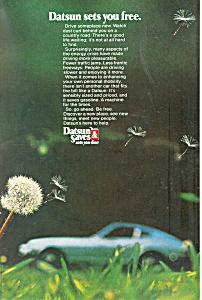 Datsun Sets You Free Ad ad0530 (Image1)