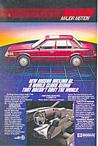 Nissan Maxima GL   Ad (Image1)