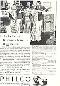 Philco Radio Ad ad0584 1932 (Image1)