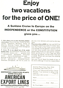 American Export Lines SS Independence Ad (Image1)