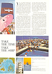 American President Lines Orient Vacations Ad (Image1)
