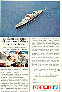 United States Lines SS America Ad ad0592 (Image1)