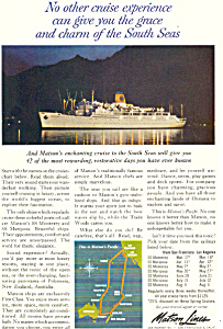 Matson Lines Pacific Ad ad0593 (Image1)