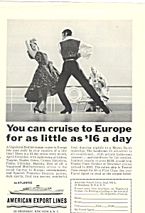 American Export Lines SS Atlantic Ad (Image1)