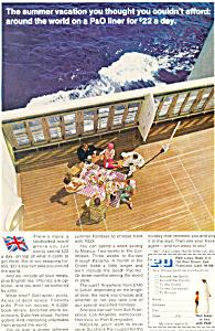 P O Lines Summer Vacation Ad ad0616 (Image1)