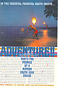 Matson Lines Adventure South Seas Ad ad0617 (Image1)