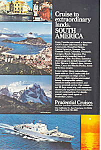 Prudentilal Cruises to South America Ad ad0620 (Image1)