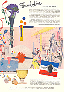 French Line Accent on Gaiety Ad ad0624 (Image1)