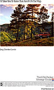 1992 Chrysler Cherokee Laredo ad0637 (Image1)