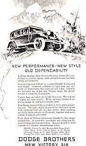 Dodge Victory Six AD ad0647 (Image1)