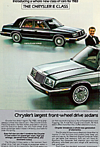 Chrysler's Largest Front-wheel Drive Sedans
