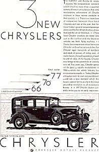 Three New Chryslers 66  70  77   ad0660 (Image1)