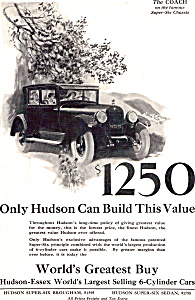 The Coach On The Famous Super Six Chassis Hudson Ad0682