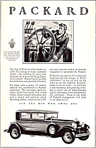 Ask The Man Who Owns One Packard Ad Ad0685