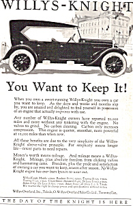 Willys Knight Sleeve Valve Full Line Prices ad0699 (Image1)