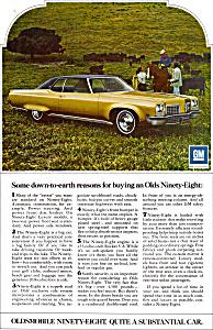 Oldsmobile Ninety Eight ad0732 (Image1)