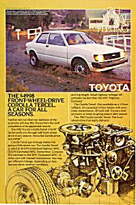 1982 Toyota Corolla Tercel 2 Door Sedan ad0766 (Image1)