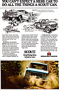 International Harvester Scout Ii And Ssii